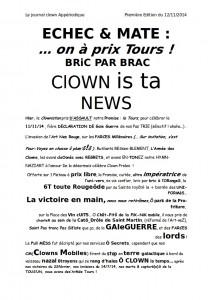 Clown is ta NewS
